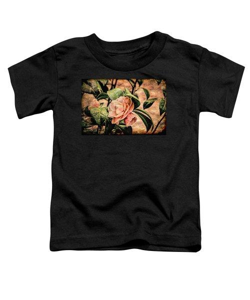 Camellia Grunge Toddler T-Shirt