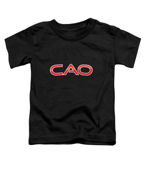 Cao Toddler T-Shirt