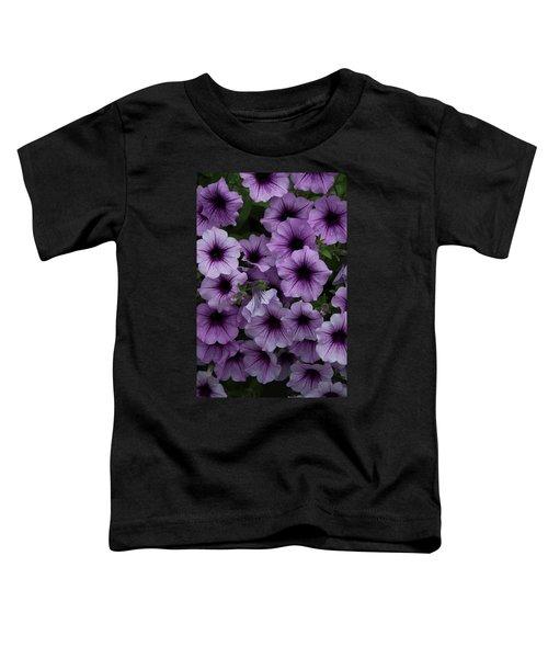 Cascade In Violet Toddler T-Shirt