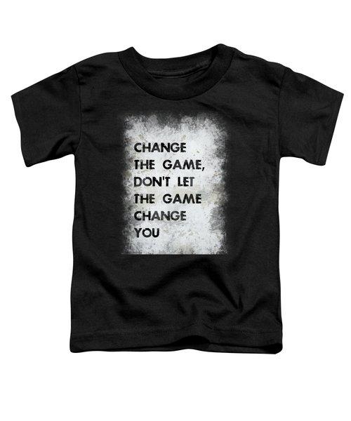 Change The Game Toddler T-Shirt