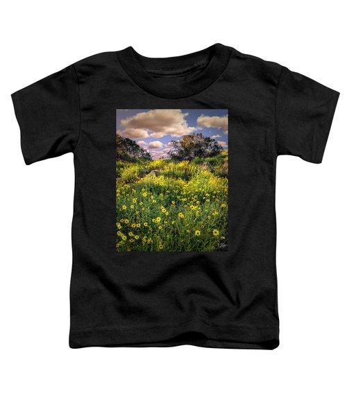 Chatsworth Wildflower Bloom Toddler T-Shirt