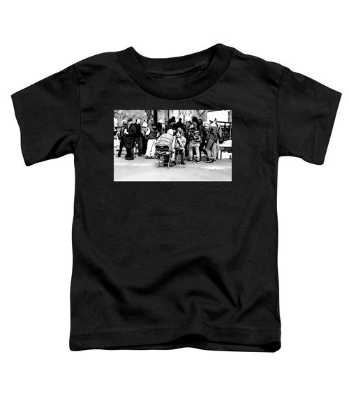 Chess Match Union Square  Toddler T-Shirt