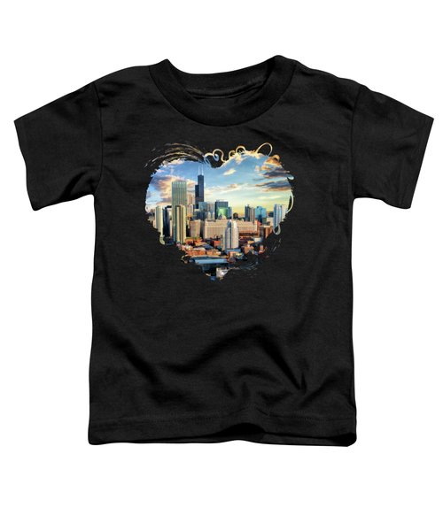 Chicago River North Toddler T-Shirt