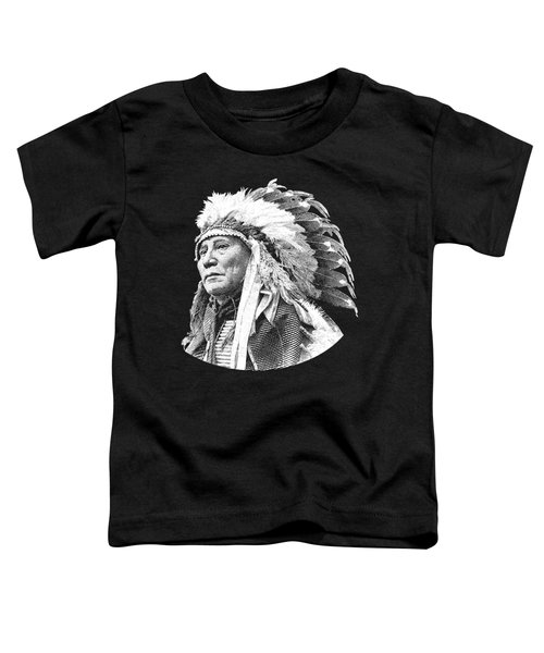 Chief Hollow Horn Bear Graphic Toddler T-Shirt