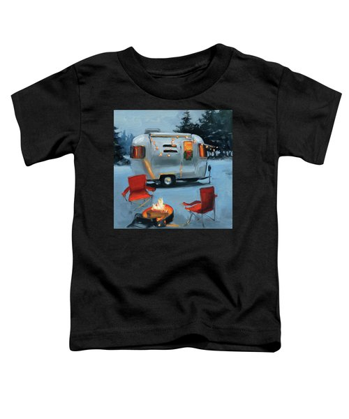 Christmas In The Snow Toddler T-Shirt
