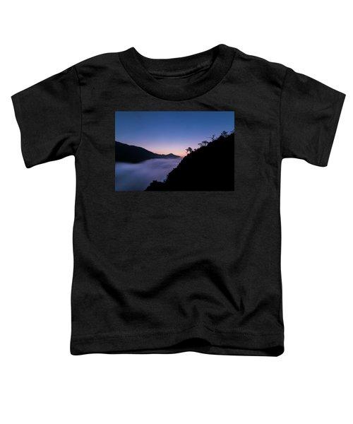 Cloud River Twilight Toddler T-Shirt