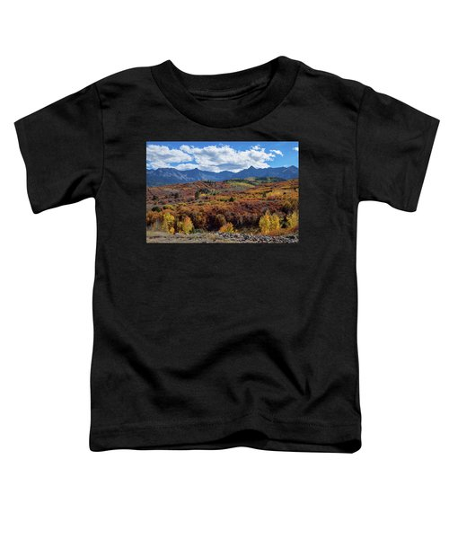 Toddler T-Shirt featuring the photograph Colorado Color Lalapalooza by James BO Insogna