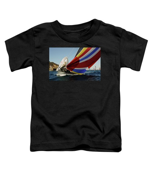 Colorful Spinnaker Run Toddler T-Shirt