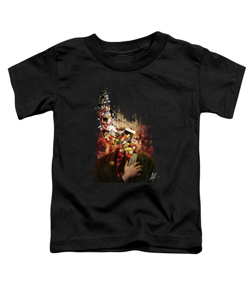 Comfortably Numb Toddler T-Shirt