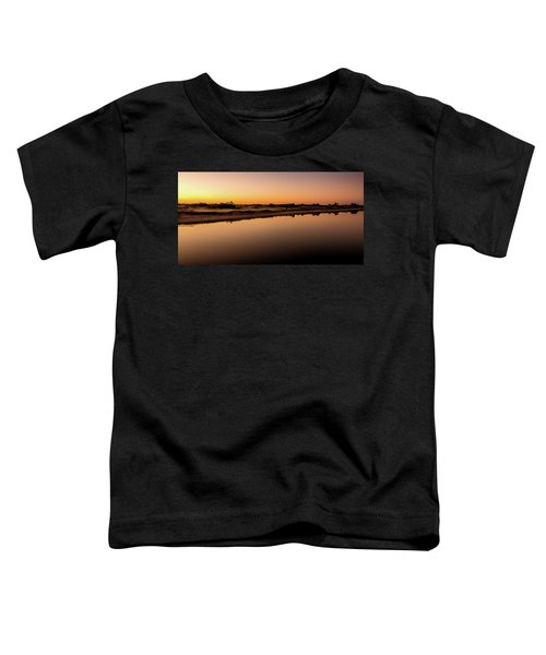 Dawn Light, Ogunquit River Toddler T-Shirt