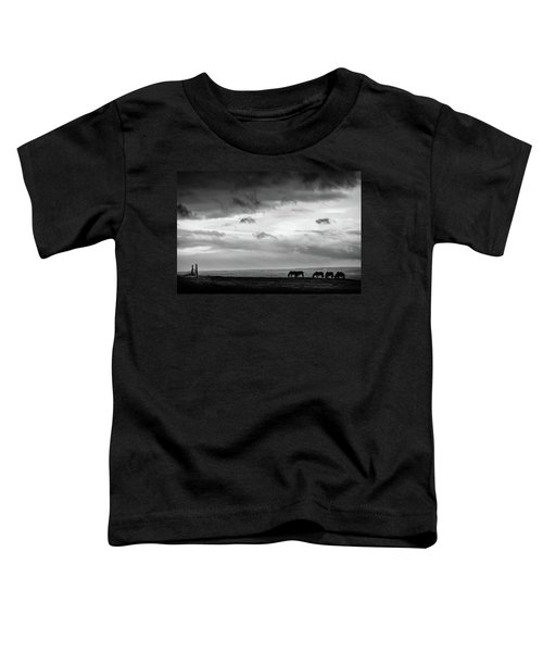 Days End At Hvammstangi Toddler T-Shirt
