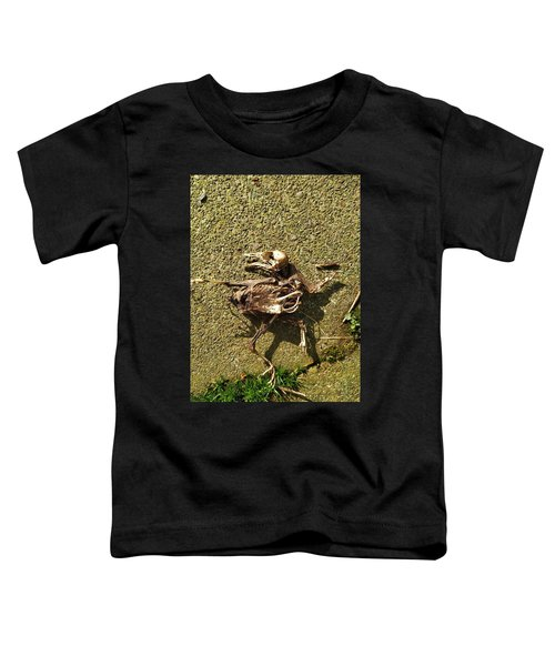 Death Shows Us We Are Nothing But Bones Toddler T-Shirt