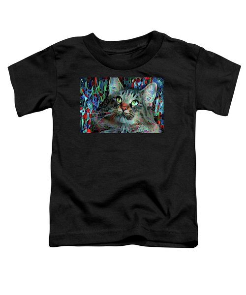 Deedee In Blue And Red Toddler T-Shirt