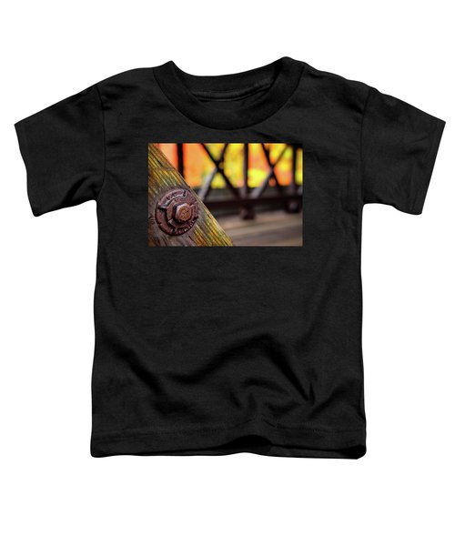 Details On A Covered Bridge Toddler T-Shirt