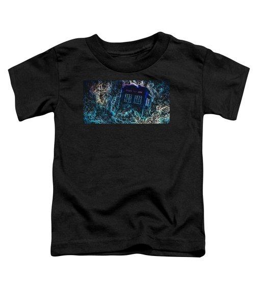 Doctor Who Tardis 3 Toddler T-Shirt