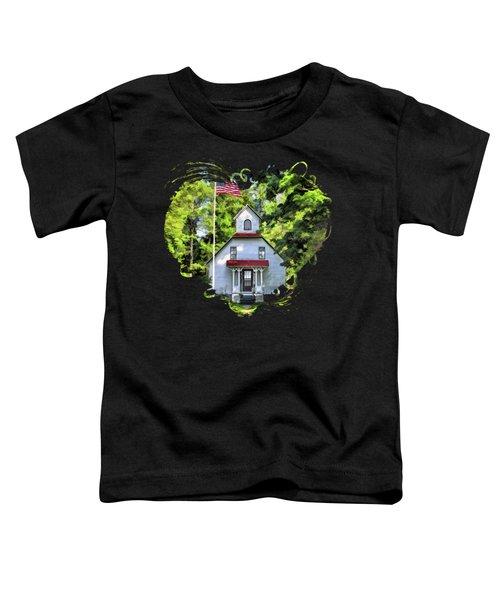 Door County Baileys Harbor Upper Range Lighthouse Toddler T-Shirt