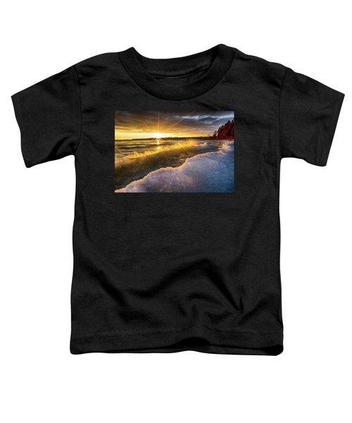 Door County Sunset Toddler T-Shirt