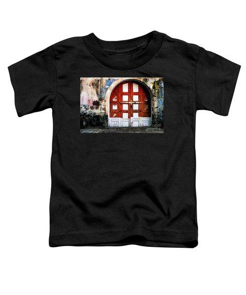 Doors Of India - Garage Door Toddler T-Shirt