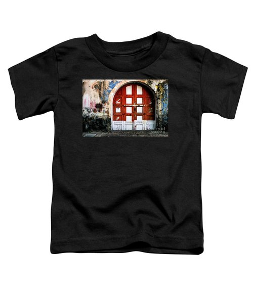 Doors Of India - Garage Door Toddler T-Shirt