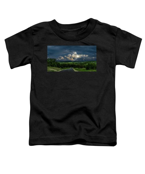 Down Hill From Here Toddler T-Shirt
