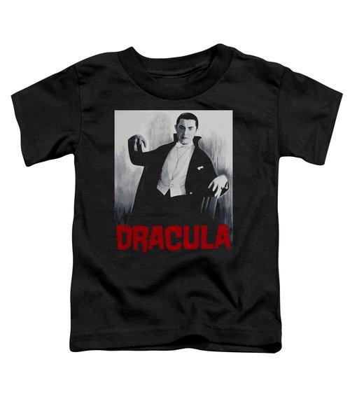 Dracula Vitage Poster Toddler T-Shirt