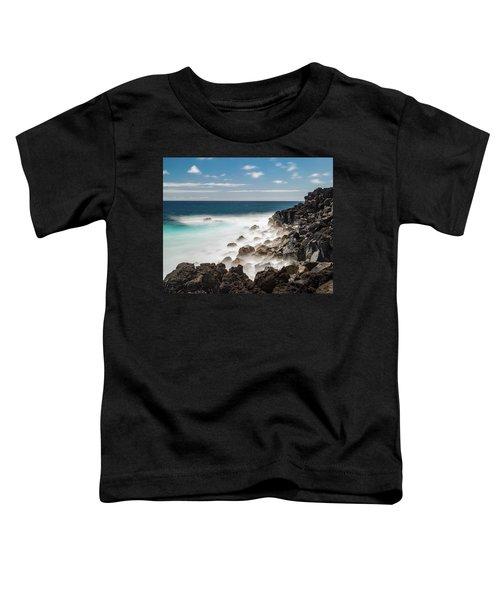 Dreamy Hawaiian Coastline Toddler T-Shirt