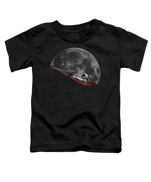 Driving Around The Moon Toddler T-Shirt