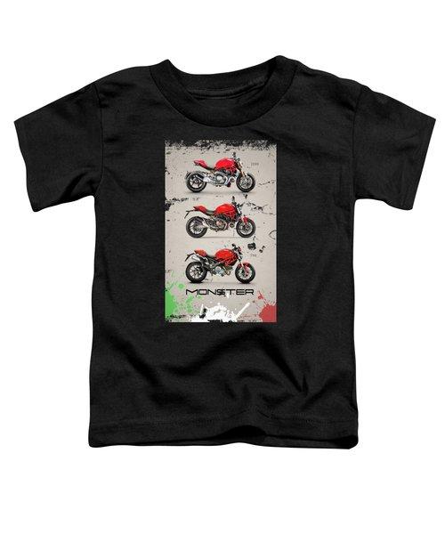 Ducati Monster Trio Toddler T-Shirt
