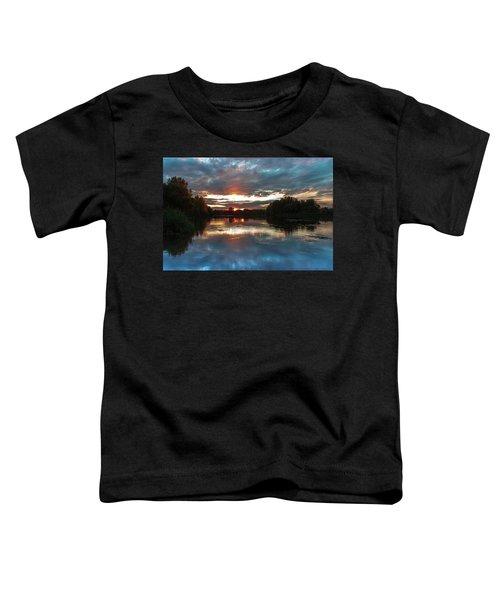 Dusk Aquarelle Toddler T-Shirt