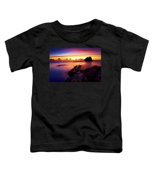 Dusk, Columbus Bay Toddler T-Shirt