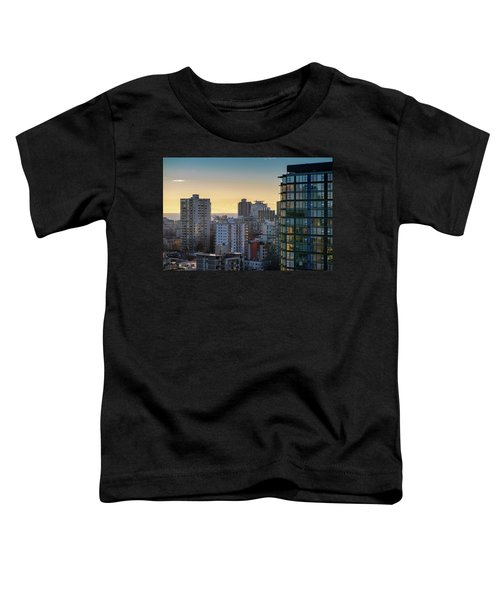 Dusky Hues Over The Pacific Toddler T-Shirt