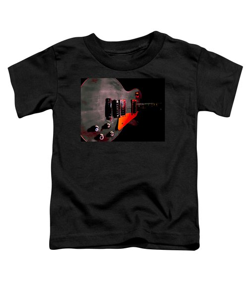 Ebony Relic Guitar Hover Series Toddler T-Shirt