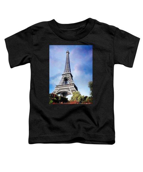 Eiffel Garden Toddler T-Shirt