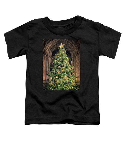 Ely Cathedral Christmas Tree 2018 Toddler T-Shirt