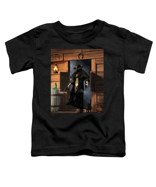 Enter The Outlaw Toddler T-Shirt