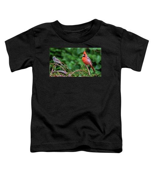 Envy - Northern Cardinal Regal Toddler T-Shirt