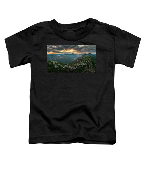 Epic Linville The Chimneys Toddler T-Shirt