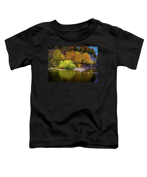 Fall Colors Of The Ozarks Toddler T-Shirt