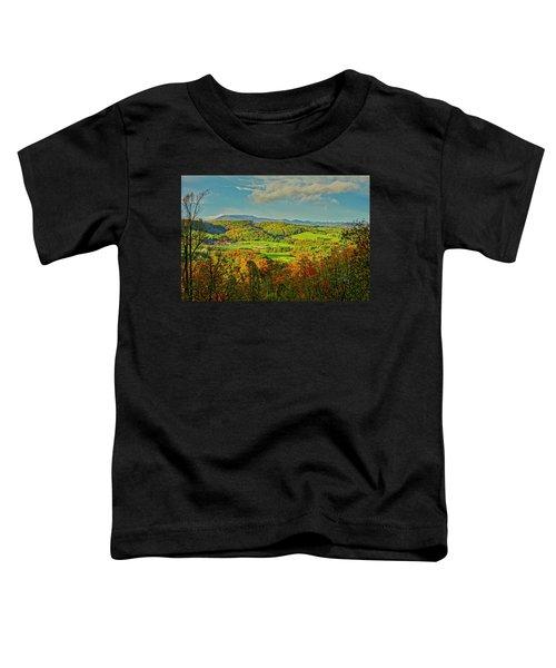 Fall Porch View Toddler T-Shirt