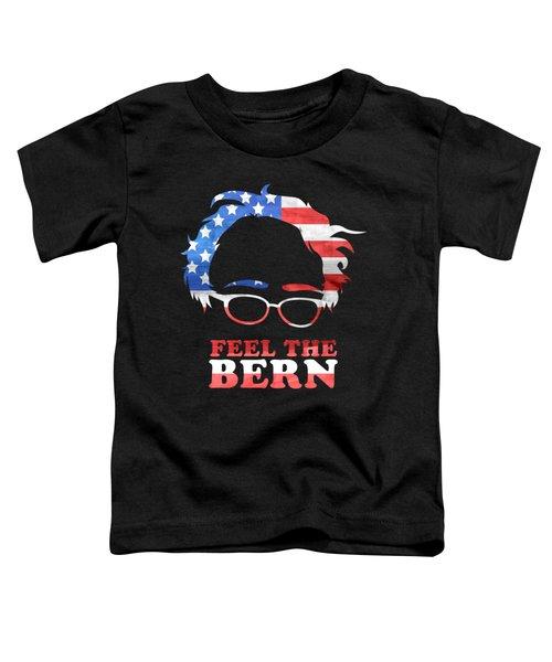 Feel The Bern Patriotic Toddler T-Shirt