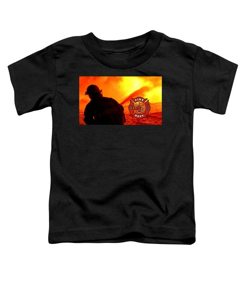 Fire Fighting 6 Toddler T-Shirt