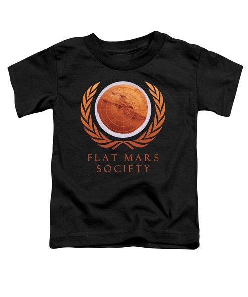 Flat Mars Society Toddler T-Shirt