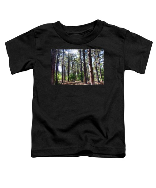 Formby. Woodland By The Coast Toddler T-Shirt