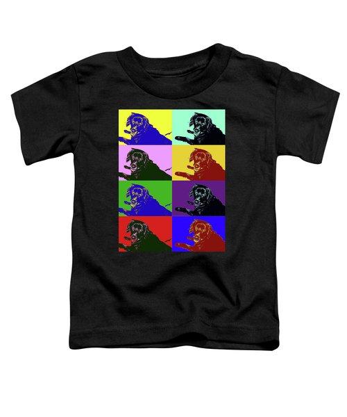 Foster Dog Pop Art Toddler T-Shirt
