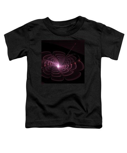 Fractal Rose Toddler T-Shirt