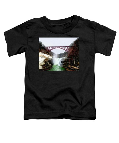 Frletchworth Railroad And Falls Toddler T-Shirt