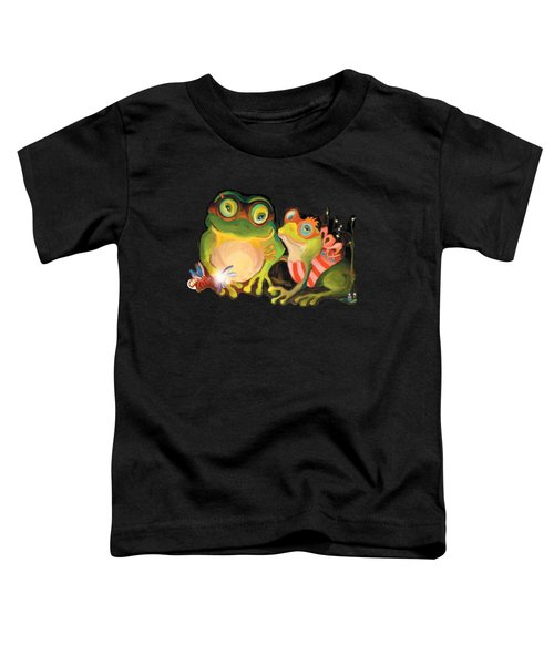 Frogs Overlay  Toddler T-Shirt
