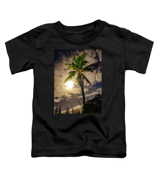 Full Moon Palm Toddler T-Shirt