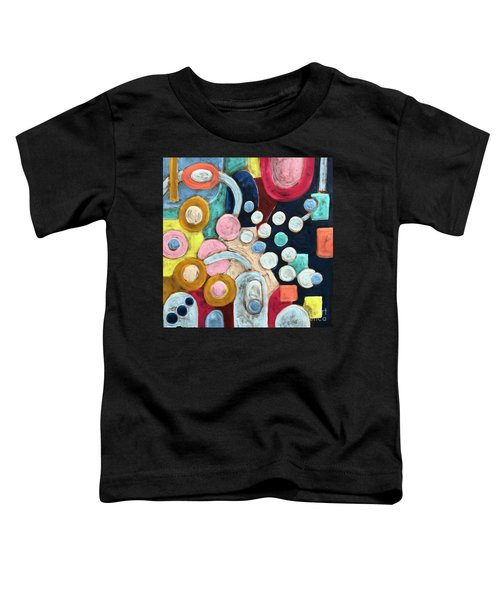 Geometric Abstract 3 Toddler T-Shirt