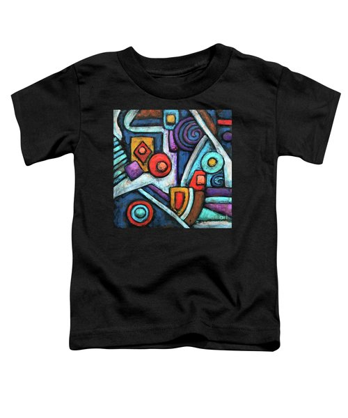 Geometric Abstract 4 Toddler T-Shirt